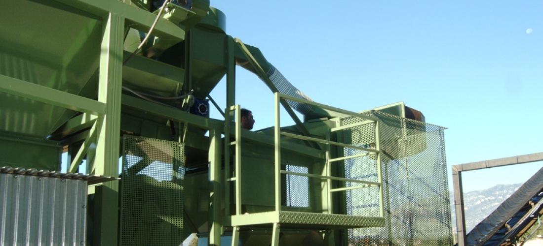 Plantas y líneas de procesado para Algarrobas